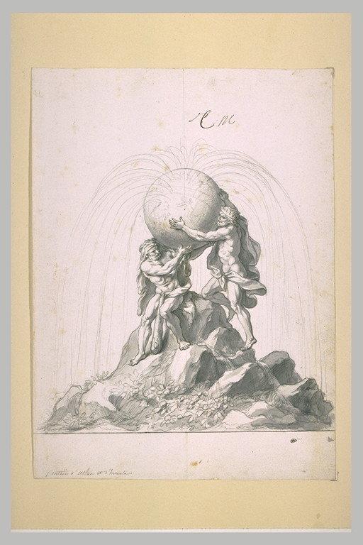 Le Titan ou géant Atlas 768